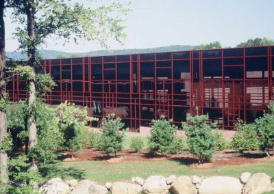 UPS World Communication Headquarters Wetlands Bridge