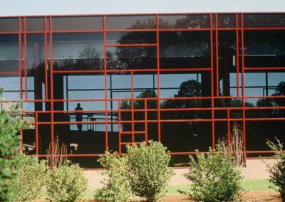 UPS World Communication Headquarters Window Wall Trellis