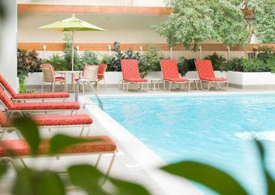 Saddlebrook Marriott Pool Deck