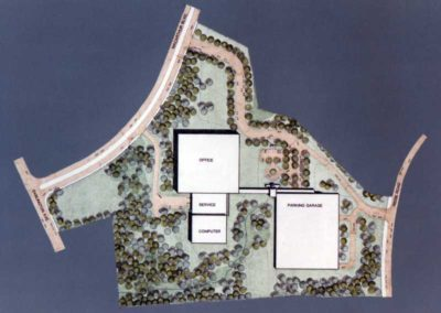 UPS World Communication Headquarters Site Plan