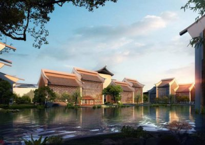 Yushan Xian Zi Qin Mountain 5 Star Resort Hotel Complex